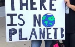 FLHS Students Walk-Out in Support of Global Climate Strike