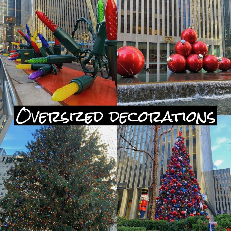 oversized decorations