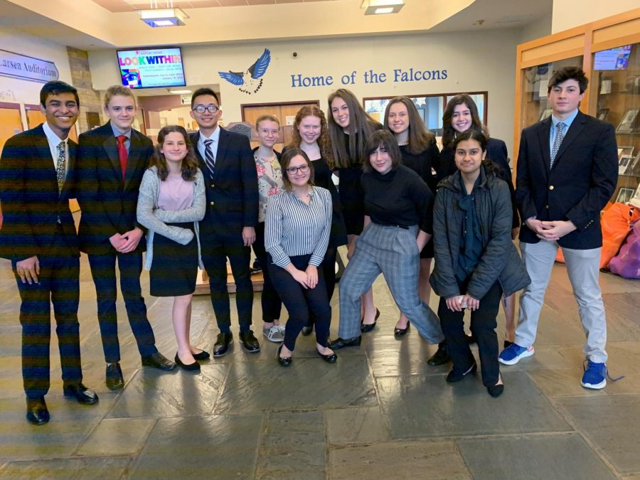 FLHS Mock Trial Team