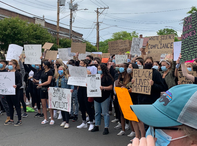 Andrew McKinnis - FLHS students at Youth for Equity Protest