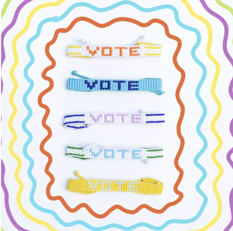 Ubuntu Life, a sustainable fashion company in Kenya, has created VOTE beaded bracelets to encourage people to vote.