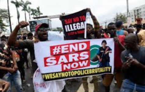 Protests erupt across Nigeria against police brutality.