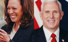 Vice President Pence and Senator Kamala Harris, now the Vice President-Elect, debated key issues such as COVID-19 and the environment on October 7. Photos of the candidates are from the US Senate and White House.