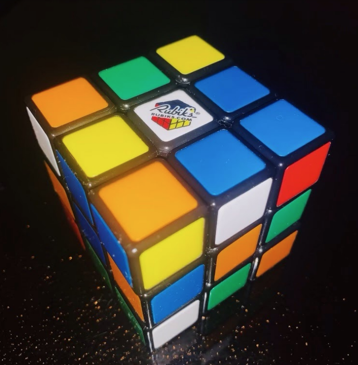 3x3 Scrambled Rubik