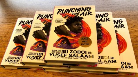 Ibi Zoboi and Dr. Salaams book is available at the Fairfield University Bookstore.