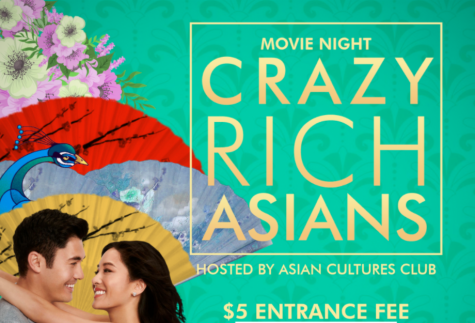"On March 25, the Asian Cultures Club hosted a movie night, showcasing ""Crazy Rich Asians."""