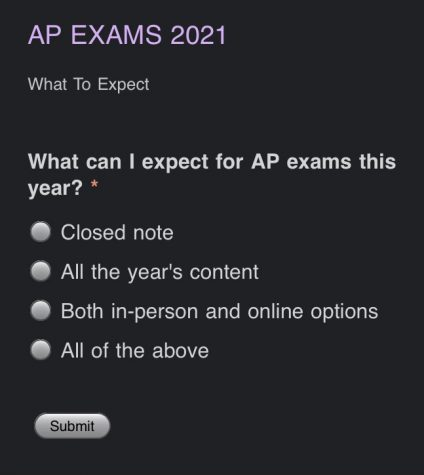 "If you got ""All of the Above,"" you are on your way to successful AP exam preparation!"