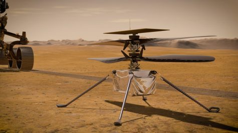 NASAs new Mars helicopter, Ingenuity, successfully completed its first flight on April 19.
