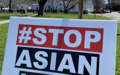 A Stop Asian Hate rally was organized by Fairfield Standing United on April 3, in response to heightened violence and racism against the Asian American community.