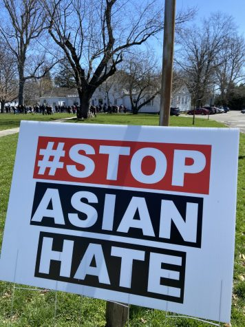 "A ""Stop Asian Hate"" rally was organized by Fairfield Standing United on April 3, in response to heightened violence and racism against the Asian American community."