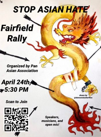 Fairfield students have organized a virtual Stop Asian Hate rally in response to a rise in discrimination and violence against the Asian American community.