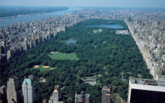 Aerial view of New York City, in which Central Park dominates. Photographs in the Carol M. Highsmith Archive, Library of Congress, Prints and Photographs Division.